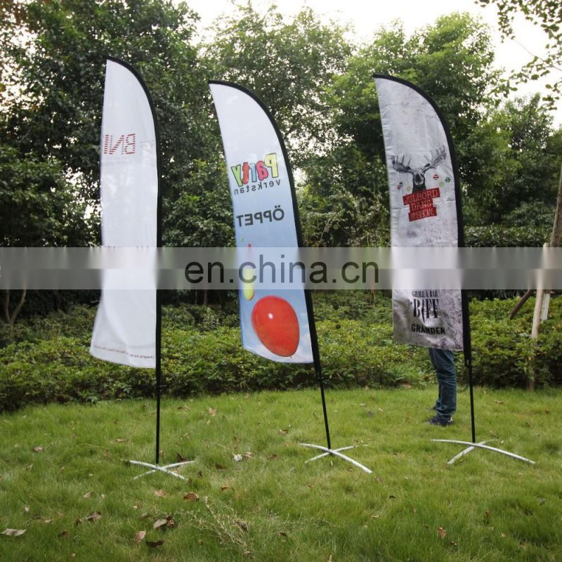 outdoor advertising feather flags