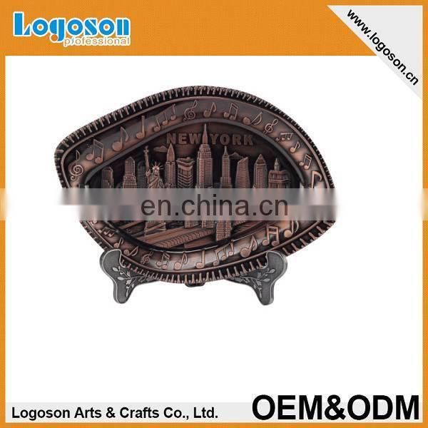 Top quality personalized design tourist country souvenir plate souvenirs