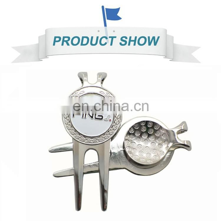 Wholesale Custom blank golf ball pick up divot repair pivot tool