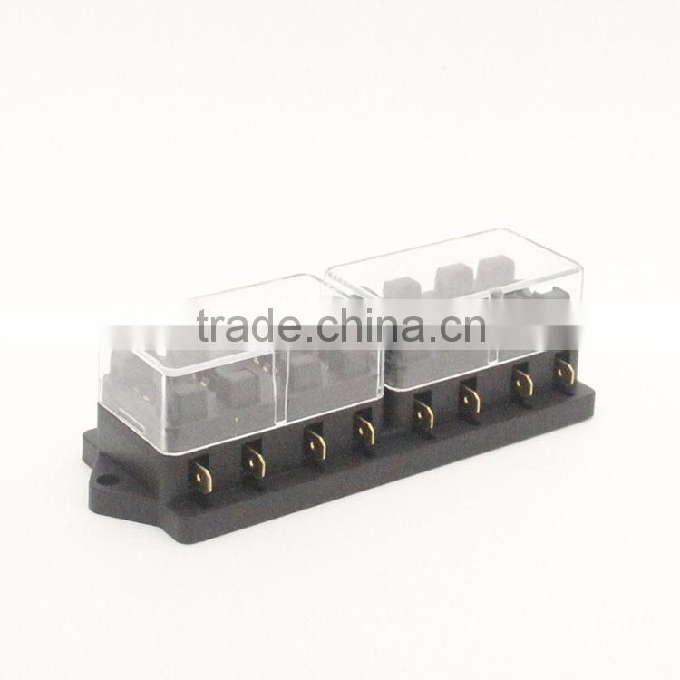 From 4-12 Way Car Auto Circuit Blade Fuse holder/box, Fuses fuse block from Chinese factory