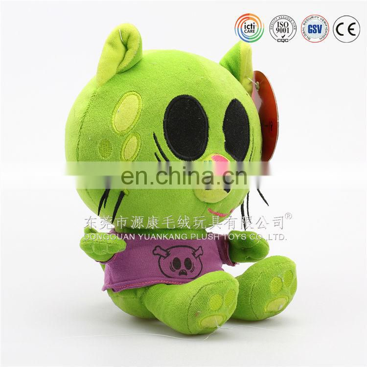 Super cute OEM customized production stuffed plush cat