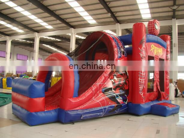 white inflatable bounce castle with slide / inflatable princess bouncer castle / inflatable bouncer slide castle