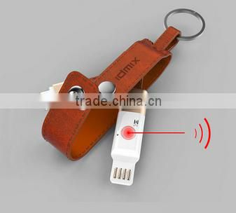 multifunctional Bluetooth GPS Anti-lost Keychain USB Charging Cable for iPhone 6 6s Plus 5