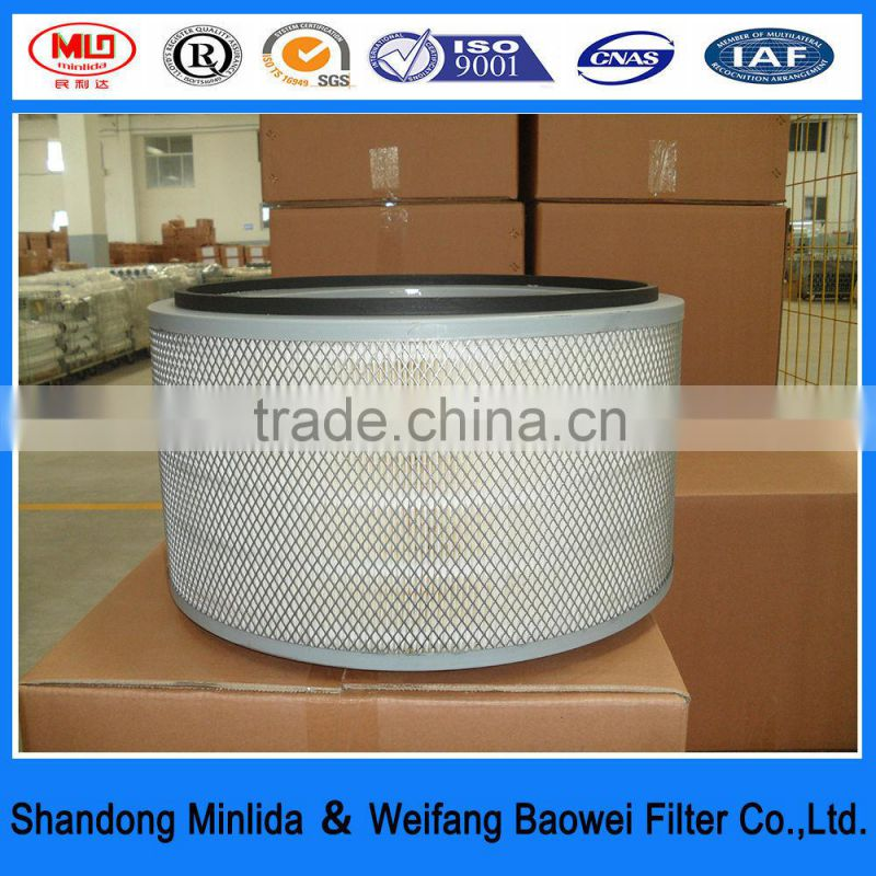 high quailty iso 16949 truck oil bath air filter