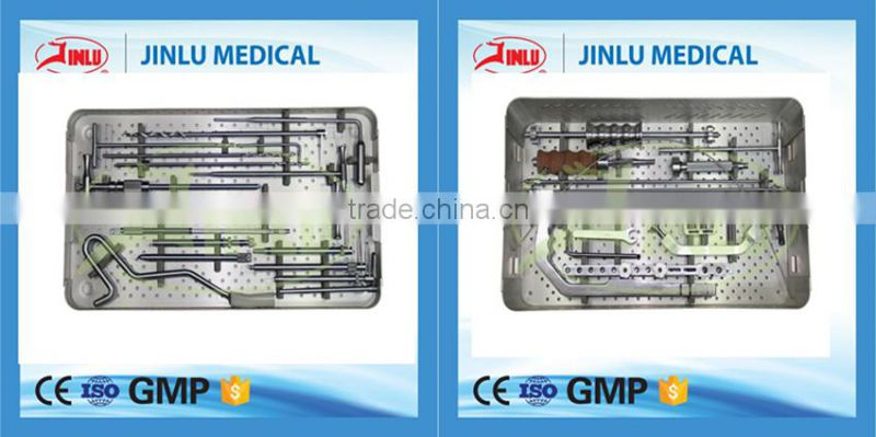 Fully stocked Bone fracture fixation surgery instrumental orthopedic intramedullary nails