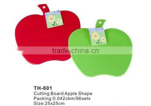 4pcs chopping board, Index Chopping Board Set