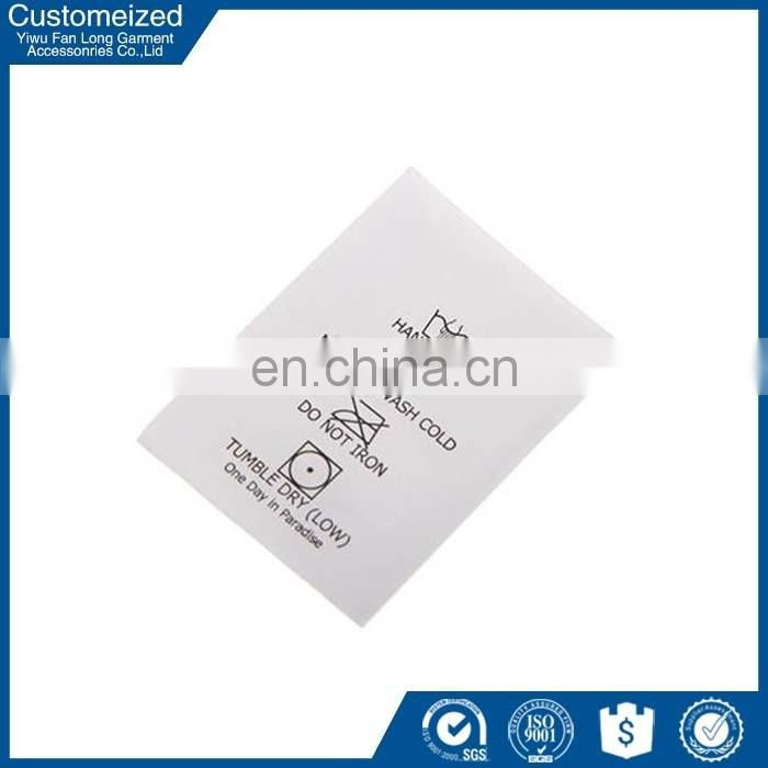 Professional fancy decorative bed sheets labels