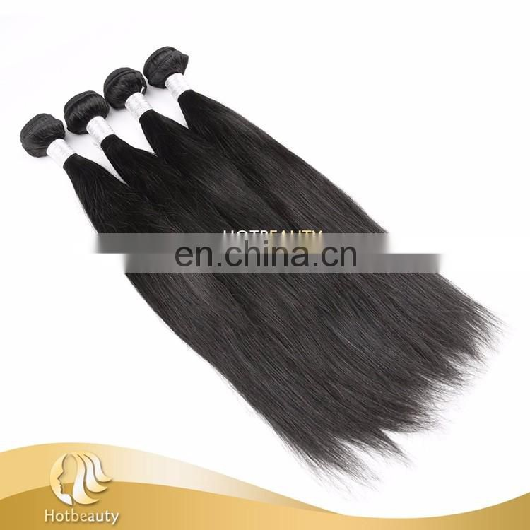 Hotbeauty wholesale 100% Virgin Peruvian human hair