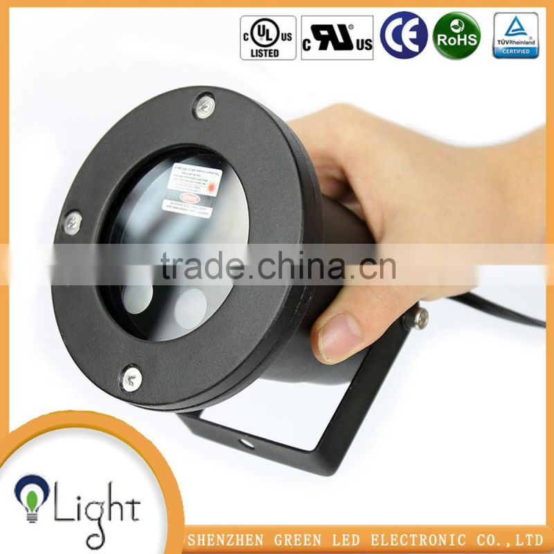 China alibaba Red Green laser projector Remote controller light base crystal led glass 3d laser