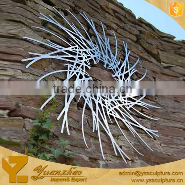 Large Abstract Complex Net Stainless Steel Sculpture