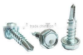 Made in Taiwan Stainless Steel serration screws Special Tapping Screws washer head screws
