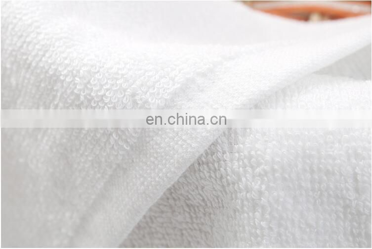 Wholesale Plain White 100% Cotton Towels