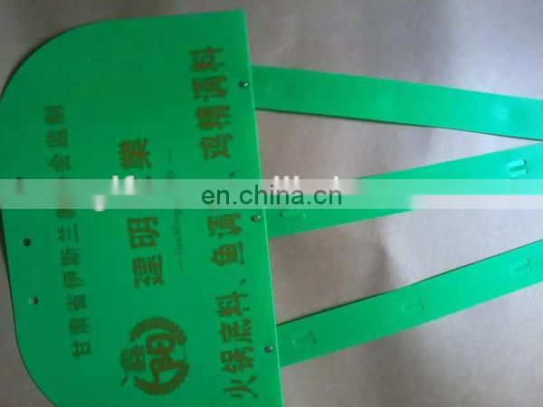 injection plastic hanging display clip strip