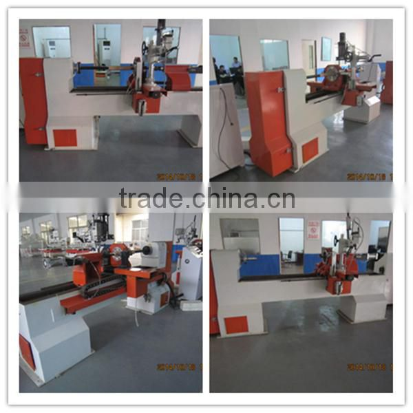 cnc lathe machine specification/ 4 axis lathing machine/3 axis lathing machine for wood chair legs stair handrail cnc wood lathe