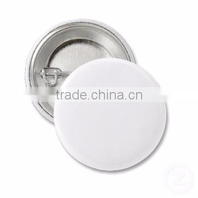 wholesale high quality custom plastic button badge clip blank pin buttons for promotional
