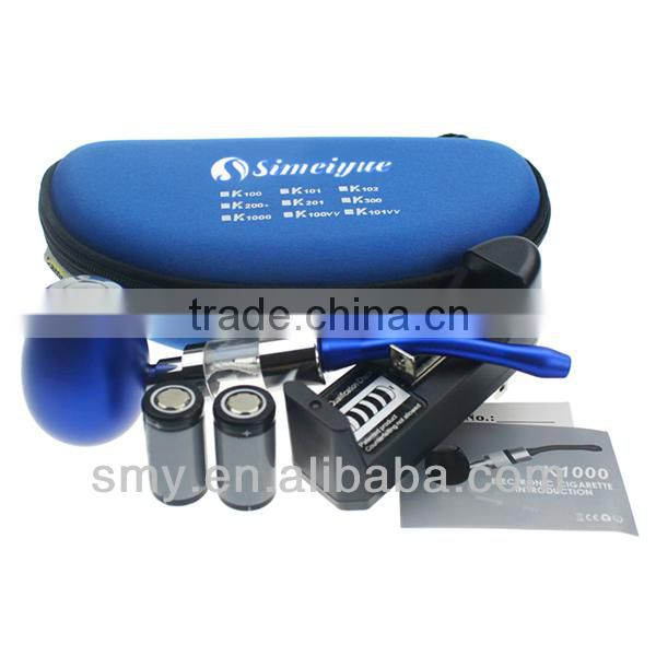 personal vaporizer e pipe k1000 smoking metal e pipe with manual switch