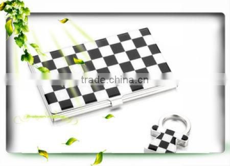 Promotion Colorful stainless steel Card holder