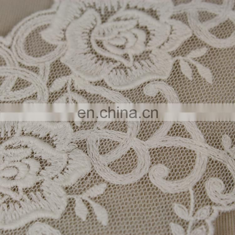 Attractive and charming white bridal wedding dress lace