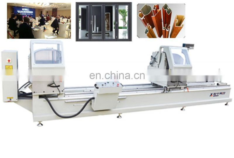 2 head miter cutting saw for sale pressing machine aluminium pressed steel door frames in China