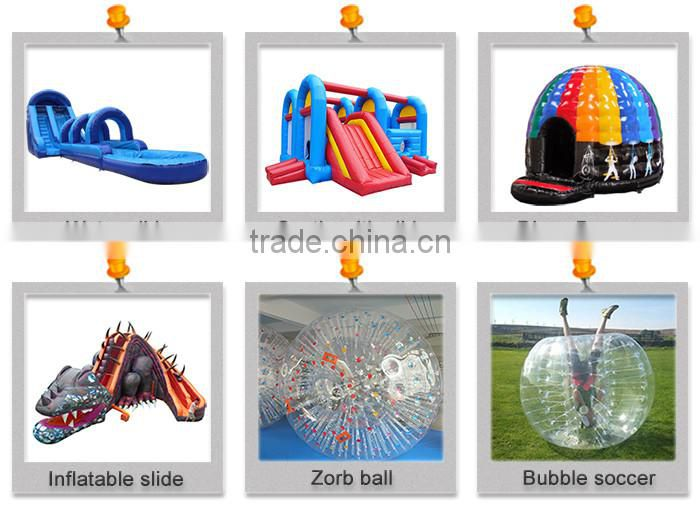 TPU walking water ball pool inflatable soluble golf ball water soluble golf ball for sale