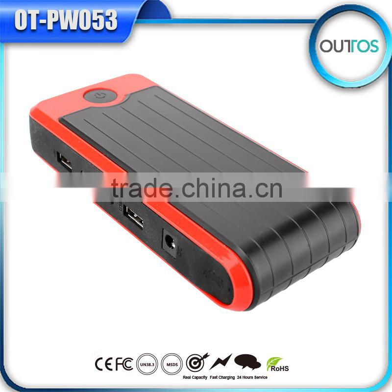 12000mah power bank mini car jump starter for Ipad cellphone laptop car