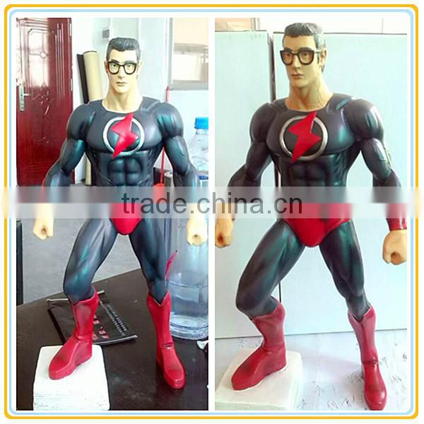 Guo hao custom hot toys the flash resin marvel comics figures