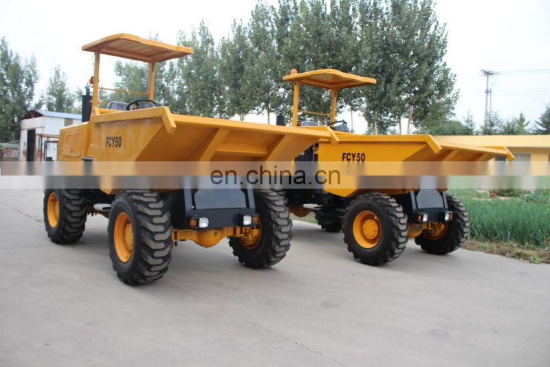 wholesale New condition 5ton site dumper with CE
