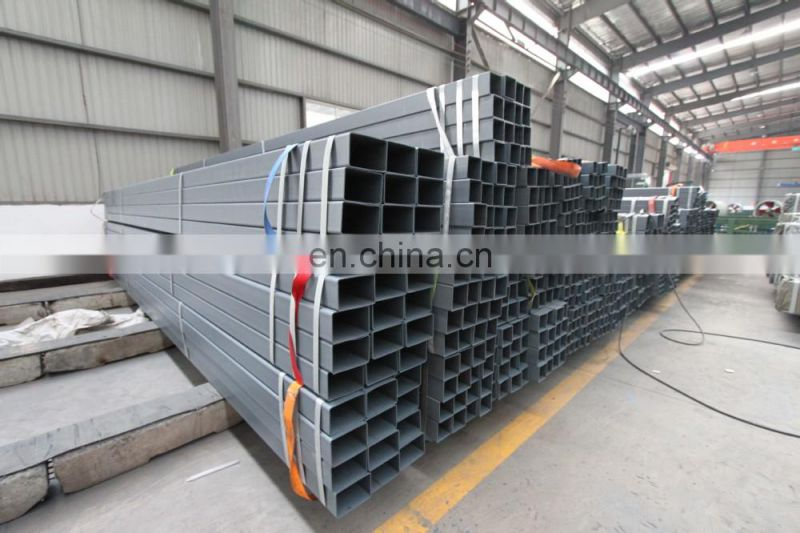 Astm a53 gi rectangular pipe and gi square pipe bs rectangular steel tube