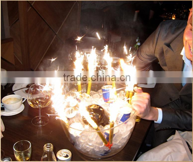 Birthday Sparkler Candles For Cakes Colored Ice Fountain Sparklers