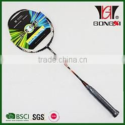 ATTACKER 501 BLUE hot sale customer brand name badminton racket/badminton floor mat/game badminton