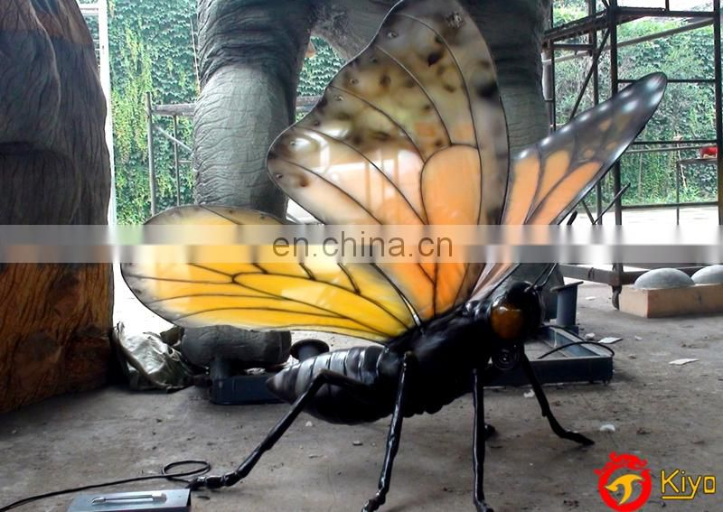 2015 new popular robot animatronic Fly simulation insect