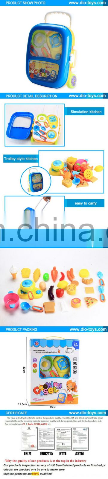 New style kids toy kitchen play set, kitchen toy for play
