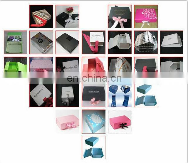 Folding Design Gift Packing Box For clothes Packing with custom logo