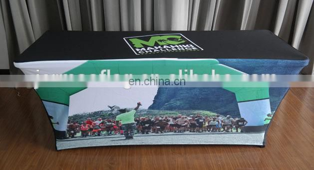 custom display spandex table cloth