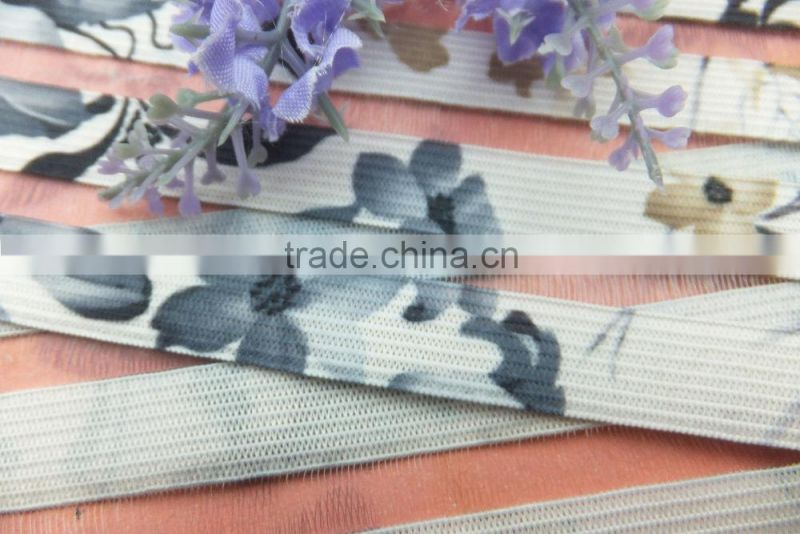 9cm knitted StretchingFlower Band for Garments