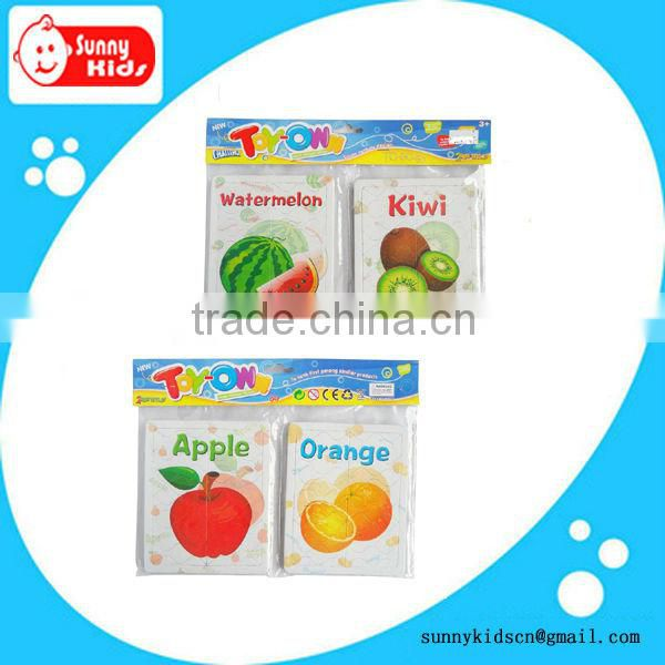 Lovely Jigsaw puzzle mini fruit puzzle cheap promotional gift