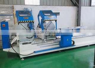 PVC window machine for opening drainage