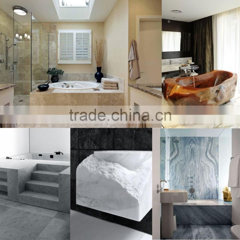 Luxury style high polished freestanding bathtub with shower NTS-BA031L