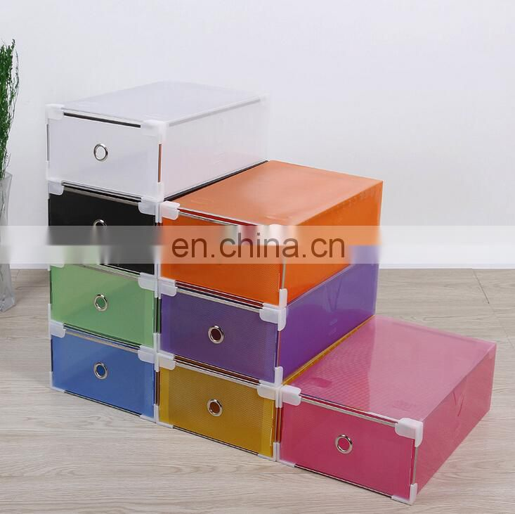 See through shoe boxes