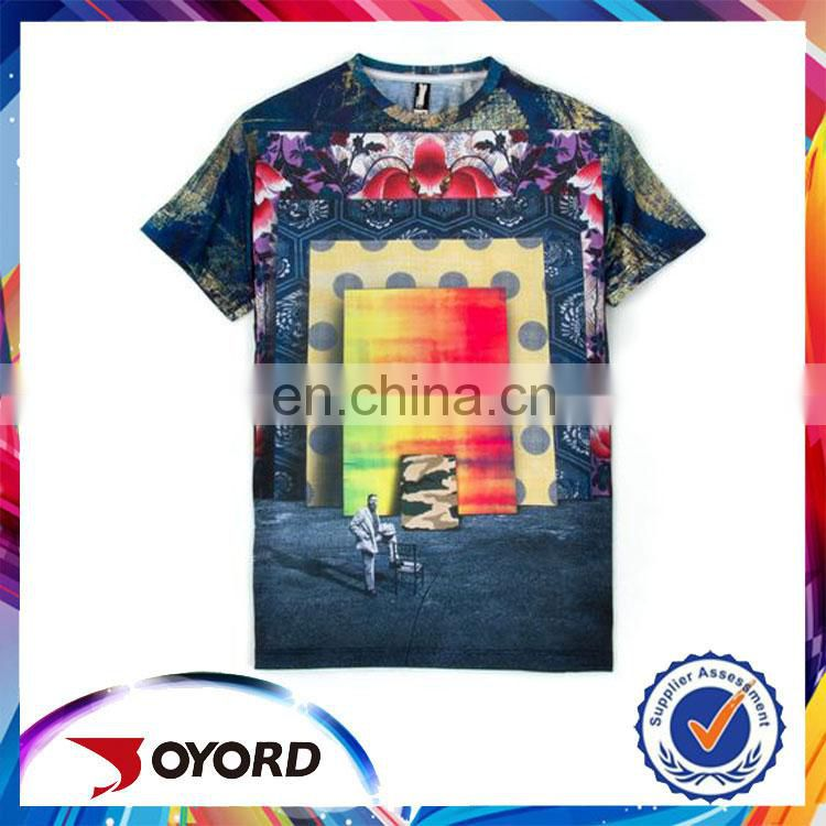 hotsale coolmat dry fit animal 3D print t shirt