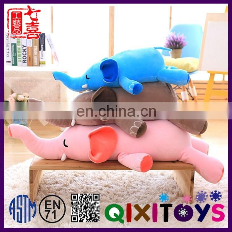 2017 New product wholesale high quality personalized soft baby toys plush elephant