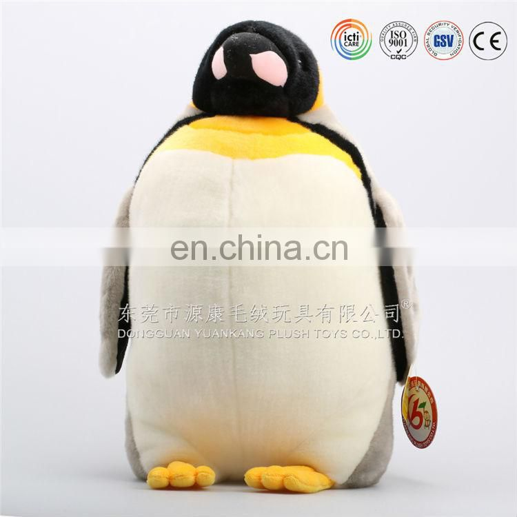 Factory hand made plush penguin soft dolls with face