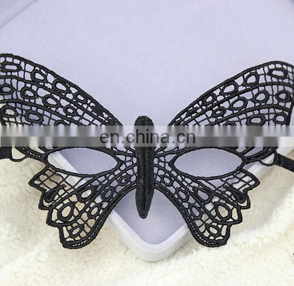 100% Handmade Hot Sell New Style Black Lace Masquerade Venetian Masks