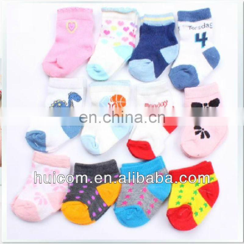 Girl's lovely design ankle high cotton socks Korean girl socks