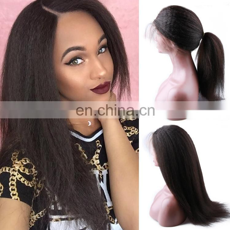 Hot sell thick cuticle aligned brazilian kinky curl hair no shed