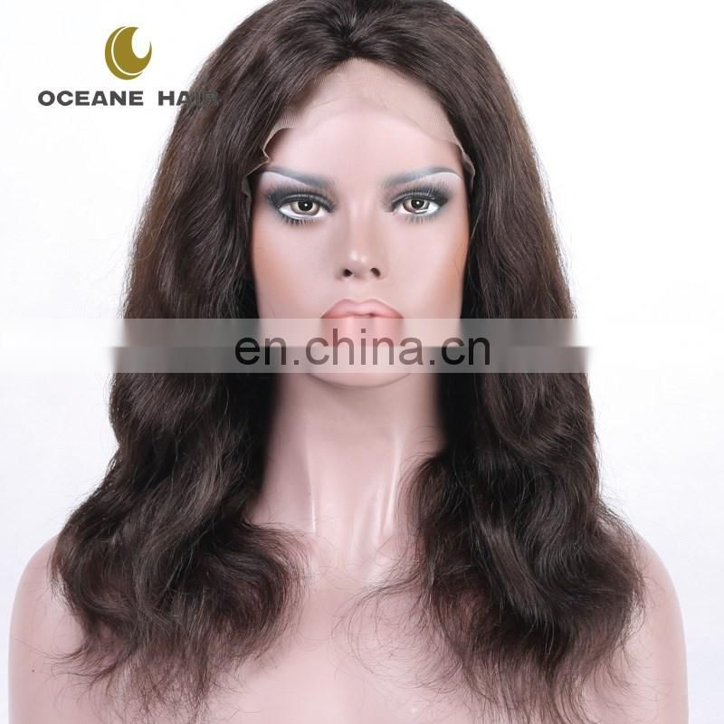 Thick Soft Hot style 2016 new cheap price factory price wholesale cheap human hair full lace wig
