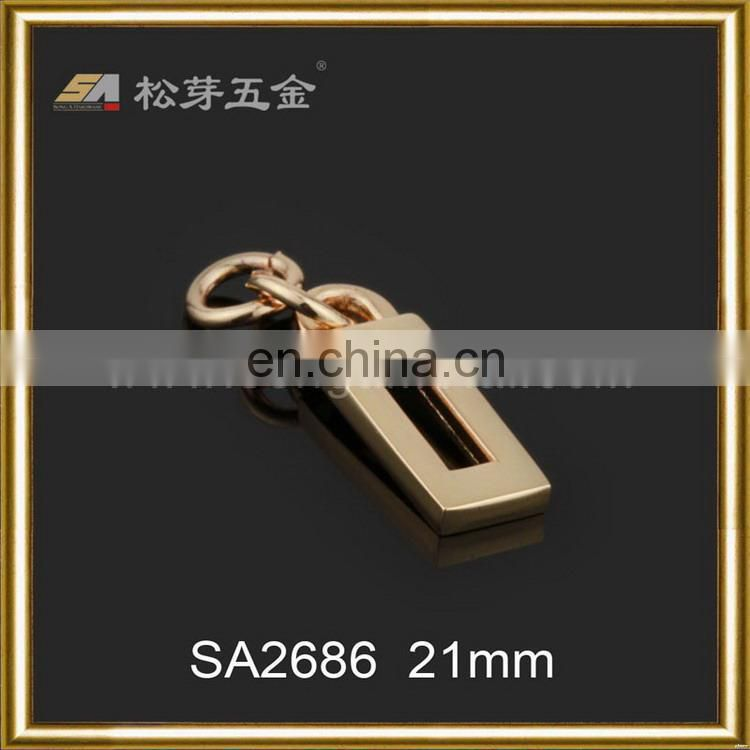 Super quality best selling zinc alloy metal zipper pullers