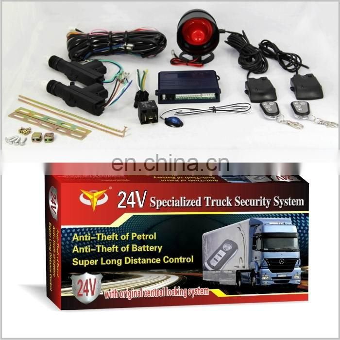 24V Specialized Truck Security System with original central locking system in guangzhou