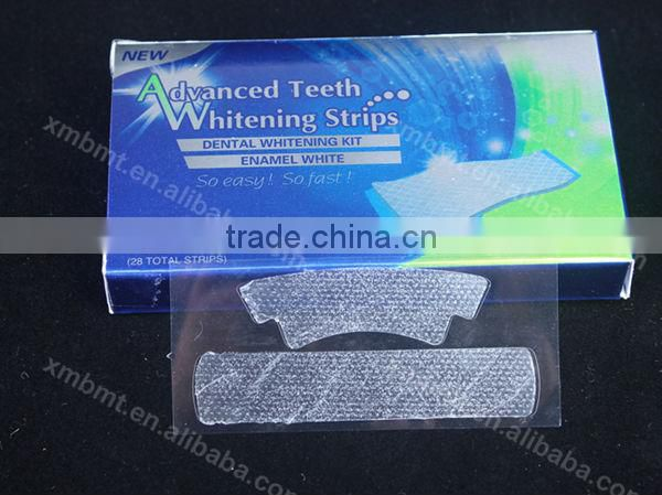 Dental Teeth Whitening Strips with Non peroxide CE