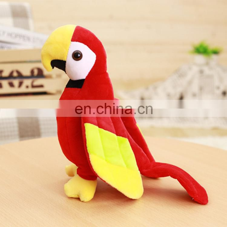 High Quality Soft Stuffed Parrots Toys Wholesale